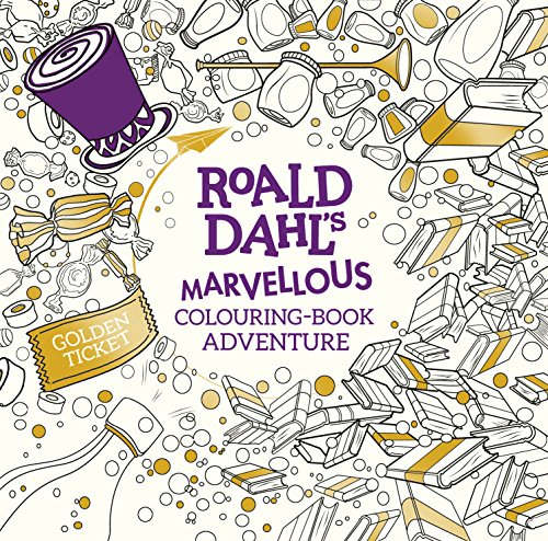 9780141373546: Roald Dahl. A Marvellous Colouring Book Adventure (Colouring Books)