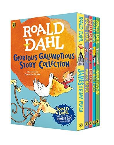 9780141374253: Roald Dahl's Glorious Galumptious Story Collection (Roald Dahl Box Set)