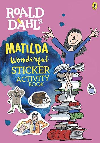 9780141376714: Roald Dahl's Matilda Wonderful Sticker Activity Book