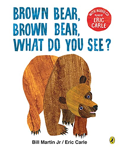 9780141379500: Brown Bear, Brown Bear, What Do You See? Book + CD : With Audio Read by Eric Carle