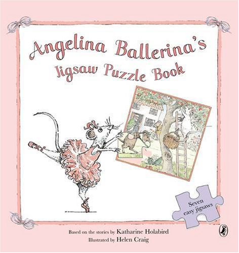 9780141380742: Angelina Ballerina's Jigsaw Puzzle Book