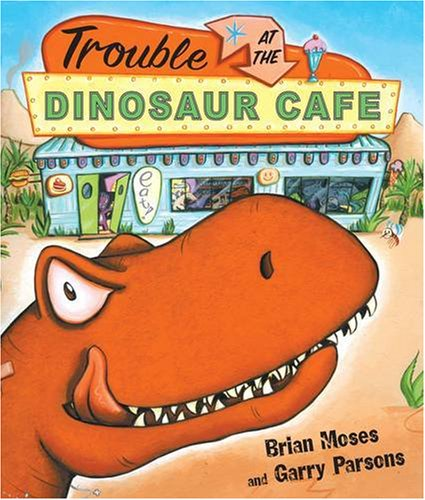 9780141381053: Trouble at the Dinosaur Cafe