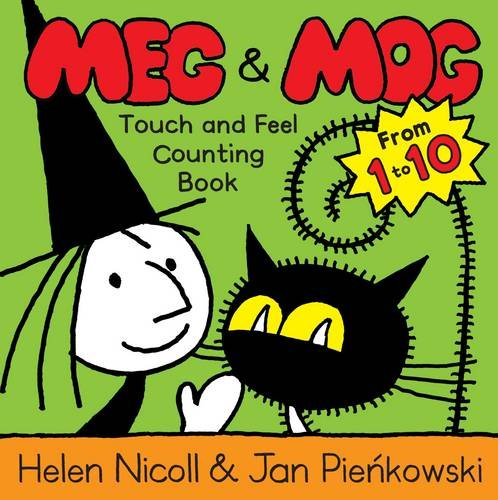 9780141381862: Meg and Mog Touch and Feel Counting Book (Touch & Feel)