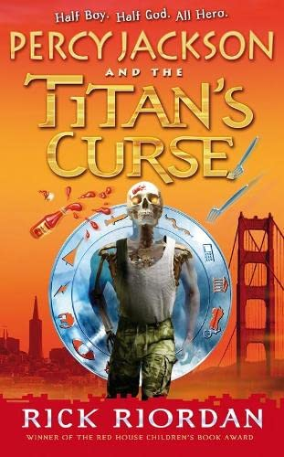 Percy Jackson and the Titan's Curse - Signed 1st printing UK HB Fine Collectors copy