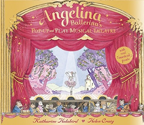 9780141384528: Angelina Ballerina: Pop-up and Play Musical Theatre