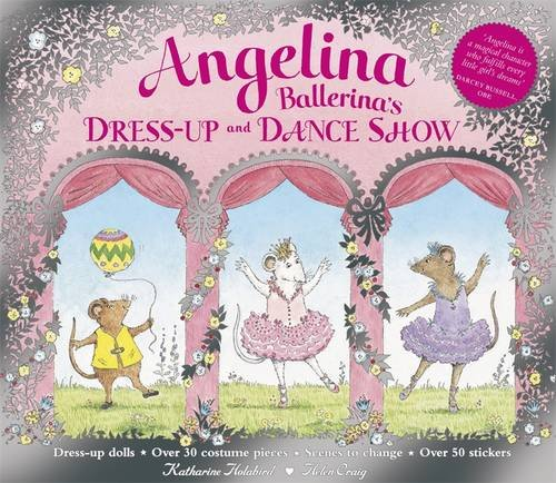 9780141384757: Angelina Ballerina's Dress-Up and Dance Show