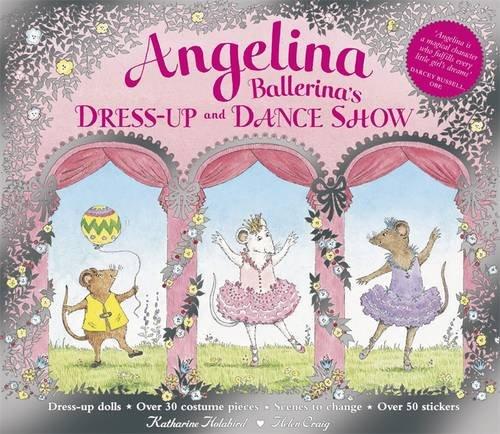 9780141384757: Angelina Ballerina's Dress-up and Dance Show