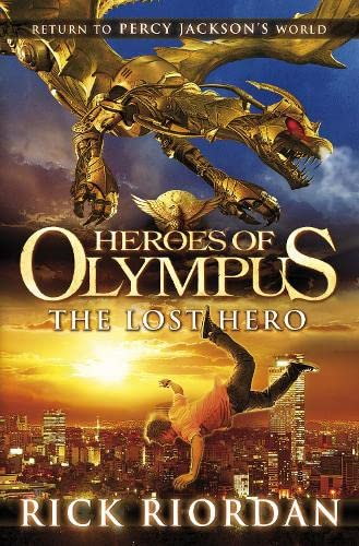 Heroes of Olympus: The Lost Hero - Signed and Dated UK HB