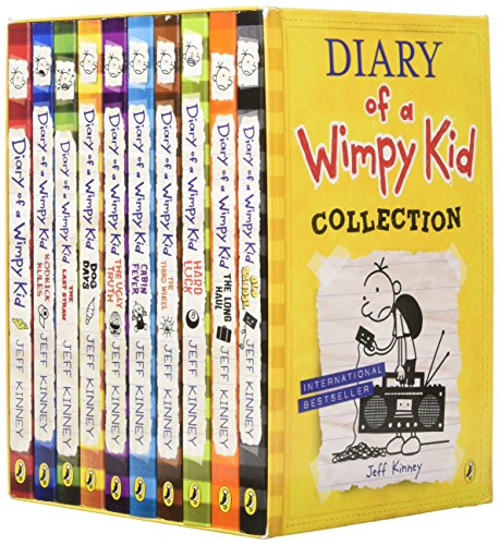 Diary wimpy kid collection books by jeff kinney abebooks diary of a wimpy kid box set kinney jeff solutioingenieria Gallery