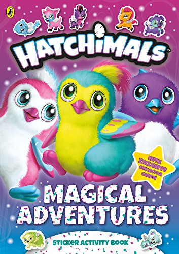 Hatchimals: Magical Adventures Sticker Activity Book: Puffin