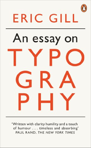 9780141393568: An Essay on Typography (Penguin Modern Classics)