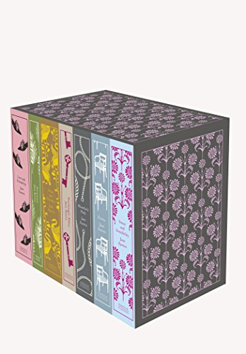 9780141395203: Jane Austen: The Complete Works 7-Book Boxed Set: Classics hardcover boxed set (Penguin Clothbound Classics)