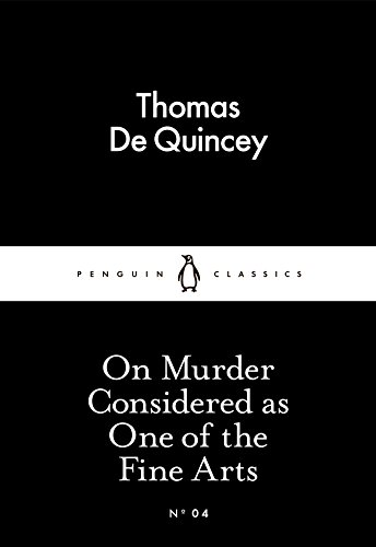9780141397887: On Murder Considered as One of the Fine Arts (Penguin Little Black Classics)