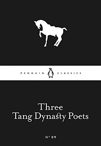 9780141398204: Three Tang Dynasty Poets (Little Black Classics)