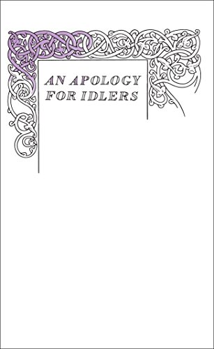 An Apology for Idlers (Penguin Great Ideas): Stevenson, Robert Louis