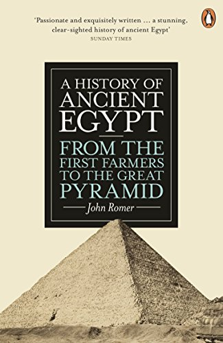 9780141399713: A History of Ancient Egypt: From the First Farmers to the Great Pyramid