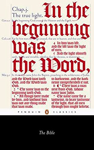 9780141441511: The Bible: King James Version with the Apocrypha (Penguin Classics)