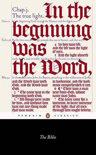 9780141441511: The Bible (Penguin Classics)