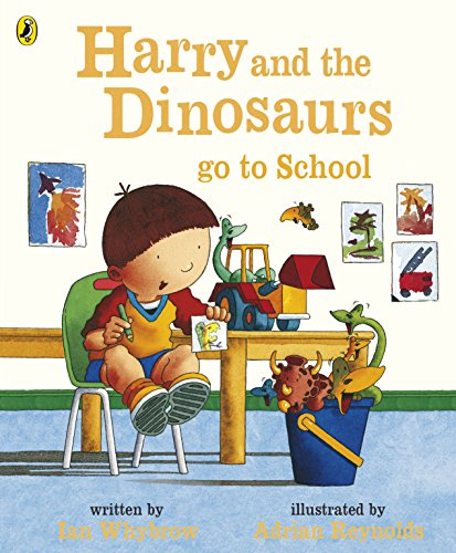 9780141500058: Harry and the Dinosaurs Go to School (Harry & His Bucket Full of Dinosaurs)