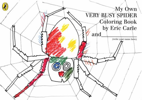 9780141500690: My Own Very Busy Spider Colouring Book