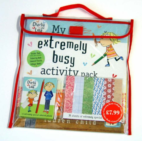 9780141501284: Charlie and Lola: My Extremely Busy Activity Pack
