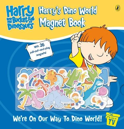 9780141501352: Harry and His Bucket Full of Dinosaurs: Harry's Dino World Magnet Book (Harry & His Bucket Full of Dinosaurs)