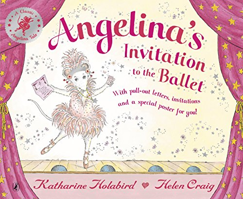 9780141501482: Angelina Ballerina Invitation to the Ballet