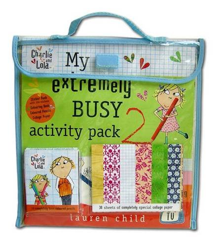 9780141501673: My NEW Extremely Busy Activity Pack: No. 2 (Charlie and Lola)