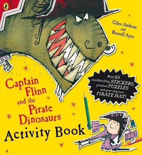 9780141501901: Captain Flinn and the Pirate Dinosaurs Activity Book (Captain Flinn/Pirate Dinosaurs)
