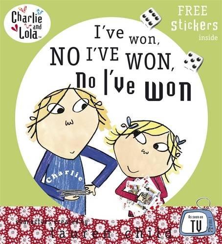9780141502281: I've won, no I've won, no I've won (Charlie and Lola)