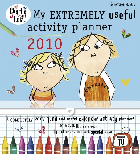 9780141502304: Charlie and Lola: My Extremely Useful Activity Planner 2010