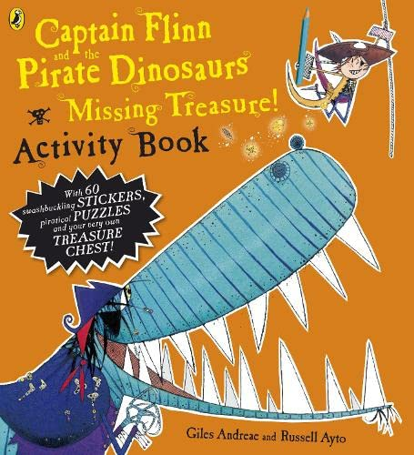9780141502618: Captain Flinn And The Pirate Dinosaurs Missing Treasure Act Bk