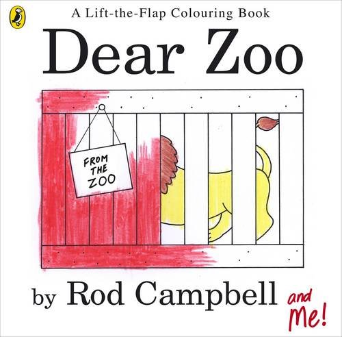 9780141502632: Dear Zoo Colouring Book