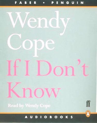 9780141803296: If I Don't Know: Unabridged (Penguin)