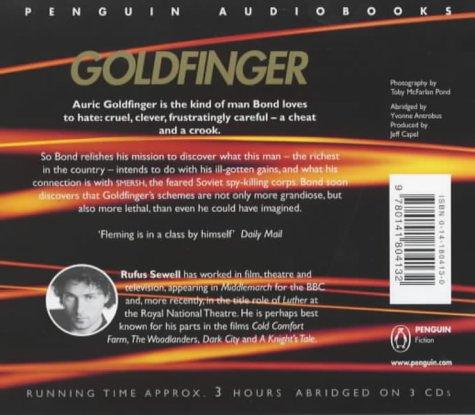 9780141804132: Goldfinger