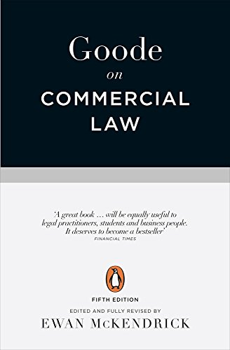 9780141980522: Goode on Commercial Law: Fifth Edition