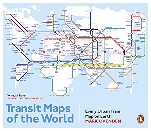 9780141981444 Transit Maps of the World Every Urban Train Map on