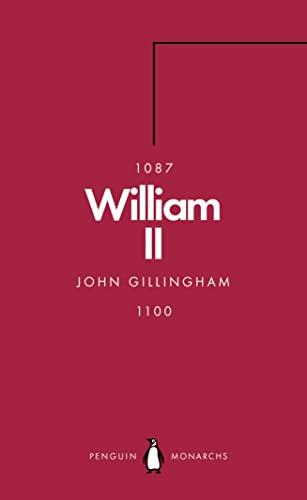 9780141989884: William II (Penguin Monarchs): The Red King