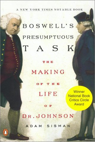 9780142001752: Boswell's Presumptuous Task: The Making of the Life of Dr. Johnson
