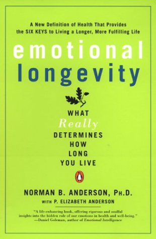 9780142003954: Emotional Longevity: What REALLY Determines How Long You Live