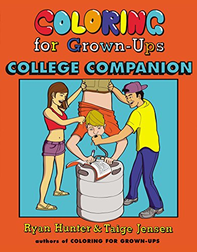 9780142181416: Coloring for Grown-Ups College Companion