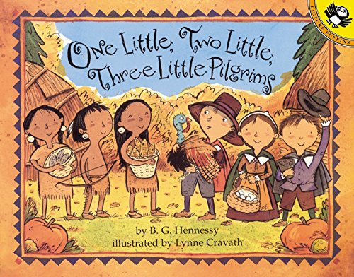 9780142300060: One Little, Two Little, Three Little Pilgrims (Picture Puffin Books)