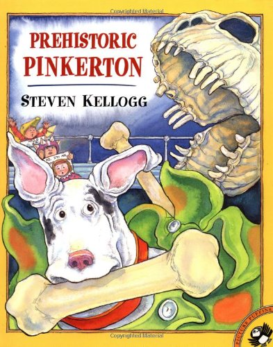 9780142300084: Prehistoric Pinkerton (Picture Puffins)