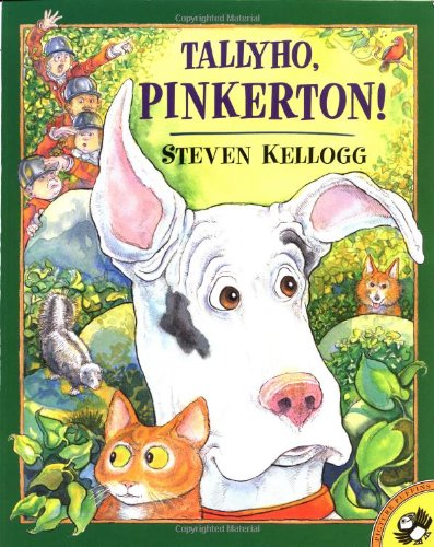 9780142300107: Tallyho, Pinkerton! (Picture Puffins)