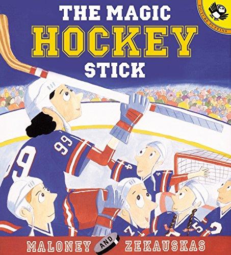 9780142300152: The Magic Hockey Stick (Picture Puffin Books)