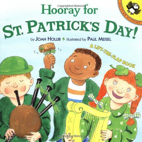9780142300619: Hooray for St. Patrick's Day!: A Lift-The-Flap Book (Picture Puffin Books (Paperback))