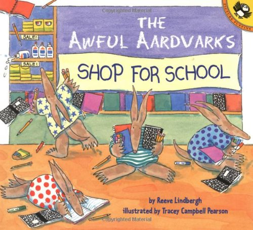 9780142301227: The Awful Aardvarks Shop for School (Reading Railroad)