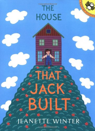 The House that Jack Built (Picture Puffins): Winter, Jeanette