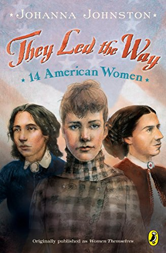 9780142400579: They Led the Way: 14 American Women