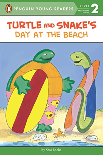 9780142401576: Turtle and Snake's Day at the Beach (Puffin Easy-To-Read - Level 1)